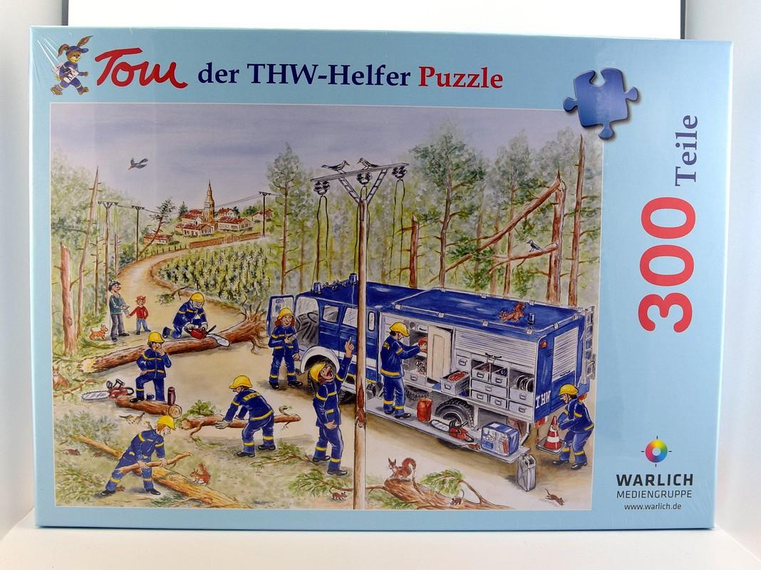 """Puzzle """"Tom, der THW-Helfer – Einsatz in Frankreich"""""""