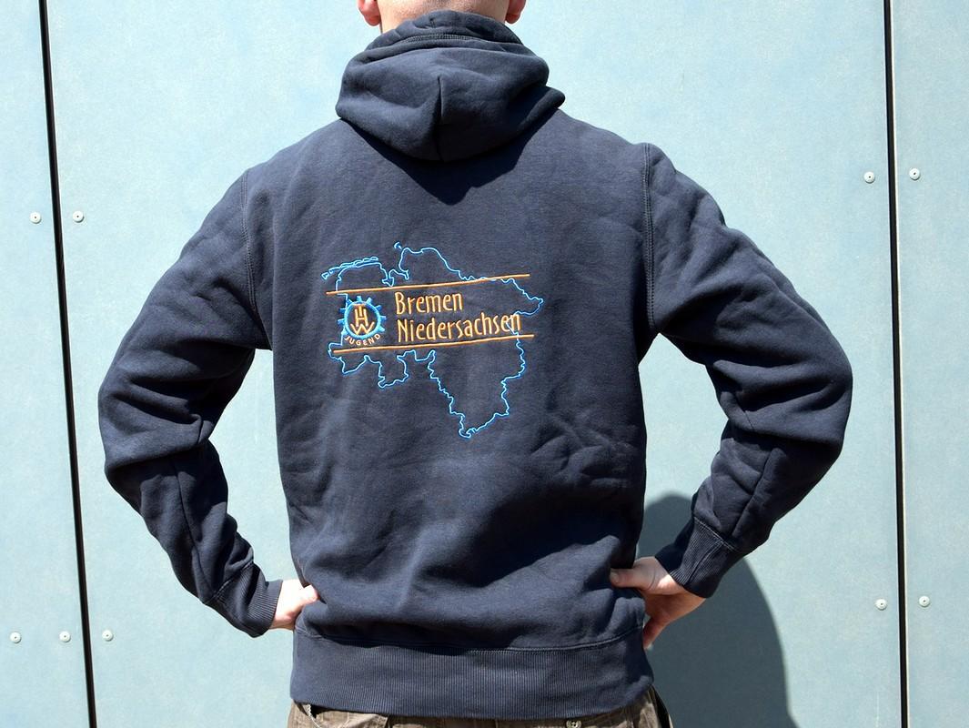 Hooded Sweatshirt THW Landesjugend Bremen/Niedersachsen
