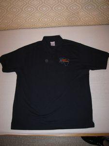 Polo-Shirt THW Landesjugend Bremen/Niedersachsen Logo alt